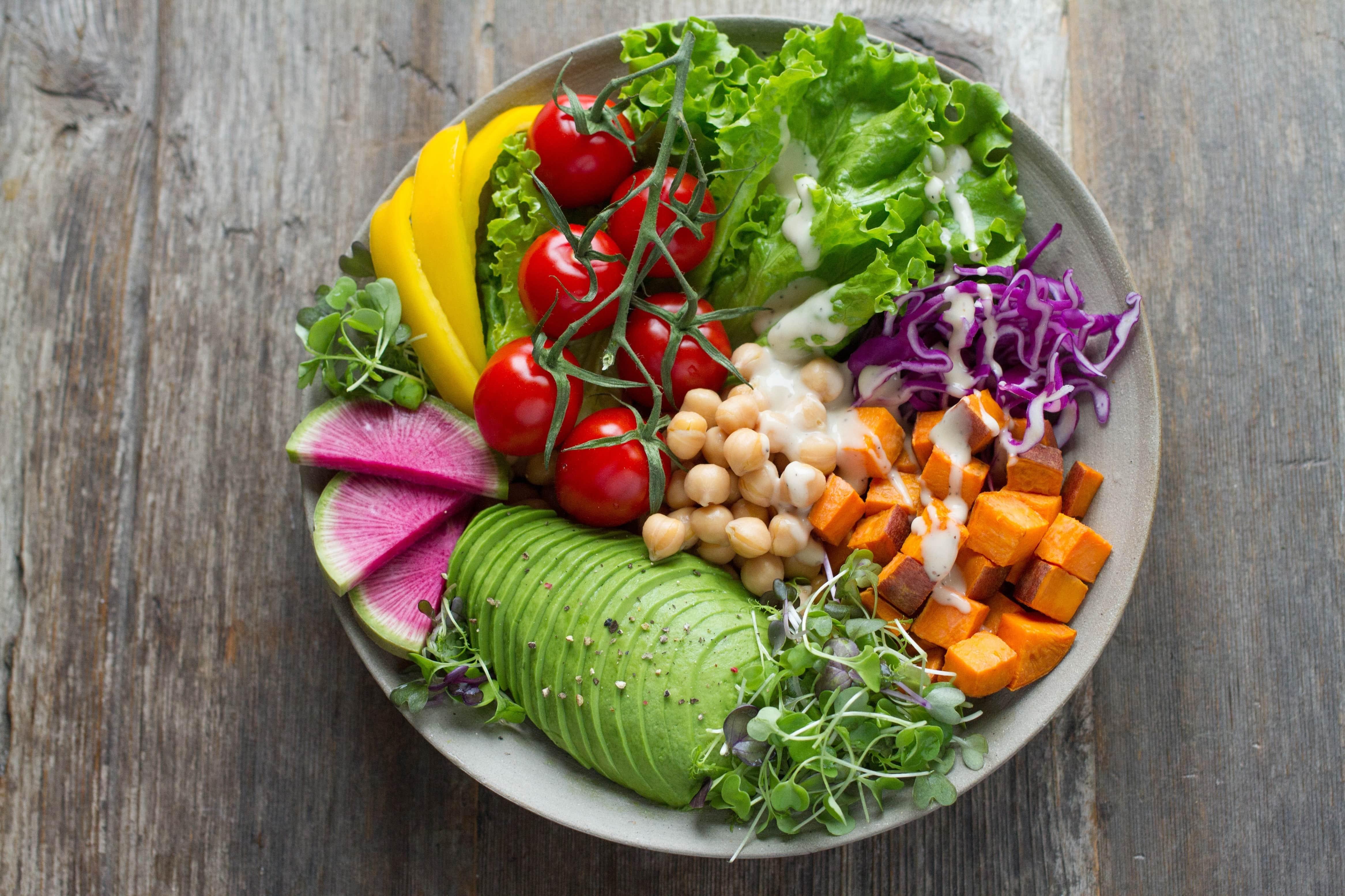 nourriture vegan